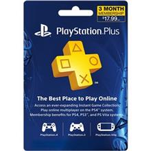 SONY PlayStation Plus Gift Card 3 Month Membership